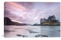 Eilean Donan Castle Sunset, Canvas Print