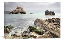 Mupe Bay Ledges, Canvas Print