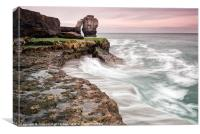 Pulpit Rock Swirl, Canvas Print