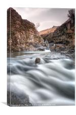 Skyes Fairy Pools, Canvas Print