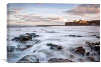 The Priory at Tynemouth, Canvas Print