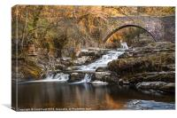 West Burton Falls, Canvas Print