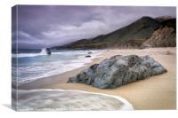 Garrapata Beach, CA, Canvas Print