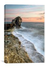 Pulpit Rock Sunset, Canvas Print