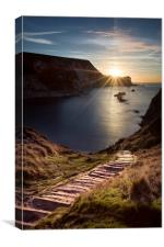 First Light at Man oWar Bay, Canvas Print