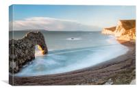 In the Shadow of Durdle Door, Canvas Print