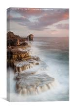 A long Way to Pulpit Rock, Canvas Print