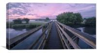 Dawn Walk, Canvas Print