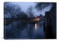 Eynsford at Dawn, Canvas Print