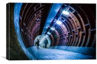 50 Feet Under Water, Canvas Print