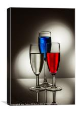 Red, White and Blue, Canvas Print