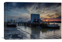 This is Woolwich, Canvas Print
