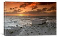 Mauritian Sunrise, Canvas Print