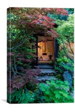 Japanese Garden, Canvas Print