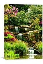 Paradise Falls, Canvas Print