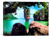 James Bond Island, Canvas Print