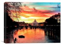 Vatican City, Canvas Print