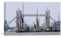 Below Tower Bridge