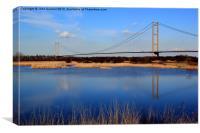 Humber Bridge, Canvas Print