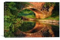 Sunlight Bridge, Canvas Print