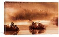 Silence on Rydal, Canvas Print