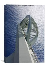 Portsmouth Spinnaker Tower, Canvas Print