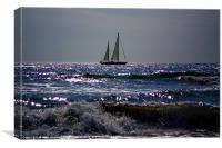 Spanish Sails, Canvas Print