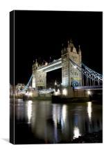 London Tower Bridge, Canvas Print