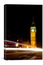Westminster Clock Tower, Canvas Print