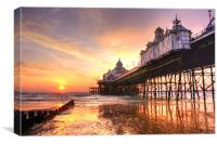 Eastbourne Sunrise, Canvas Print