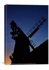 Polegate Windmill, Canvas Print