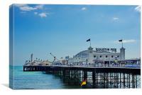 Brighton 'Palace' Pier, Canvas Print