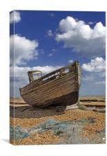 Dungeness Fishing Boat, Canvas Print