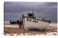 Eastbourne Fishing Boats, Canvas Print