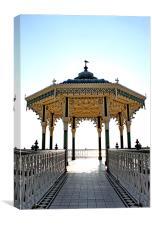 Brighton & Hove Bandstand, Canvas Print