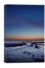 Birling Gap, Jupiter and Venus, Canvas Print