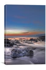 Low Tide At Birling Gap, Canvas Print