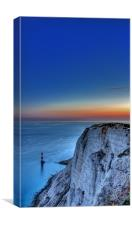 Beachy Head Blues, Canvas Print