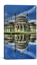 Brighton Pavilion Reflected, Canvas Print