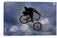Riding High, Canvas Print