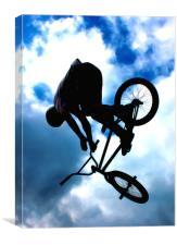 BMX, Canvas Print