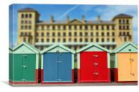Brighton Beach Huts, Canvas Print