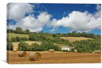 Biggin Hill Wheat Fields, Canvas Print