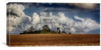 Deal Windmill, Canvas Print