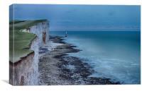 Beachy Head, Canvas Print