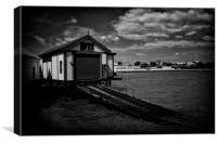 Clacton Pier Lifeboat Station & Slipway, Canvas Print