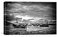 Folkestone Harbour, Canvas Print