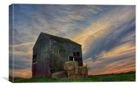The Old Barn, Detling, Canvas Print