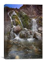 Welcombe Falls, Watermouth, Devon, Canvas Print