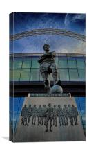 Bobby Moore Statue, Canvas Print